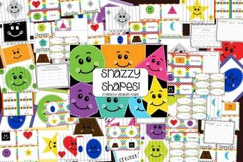 Snazzy Shapes- A Unit All About Shapes and Their Names! $