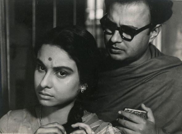 madhabi mukherjee and Anil Chatterjee