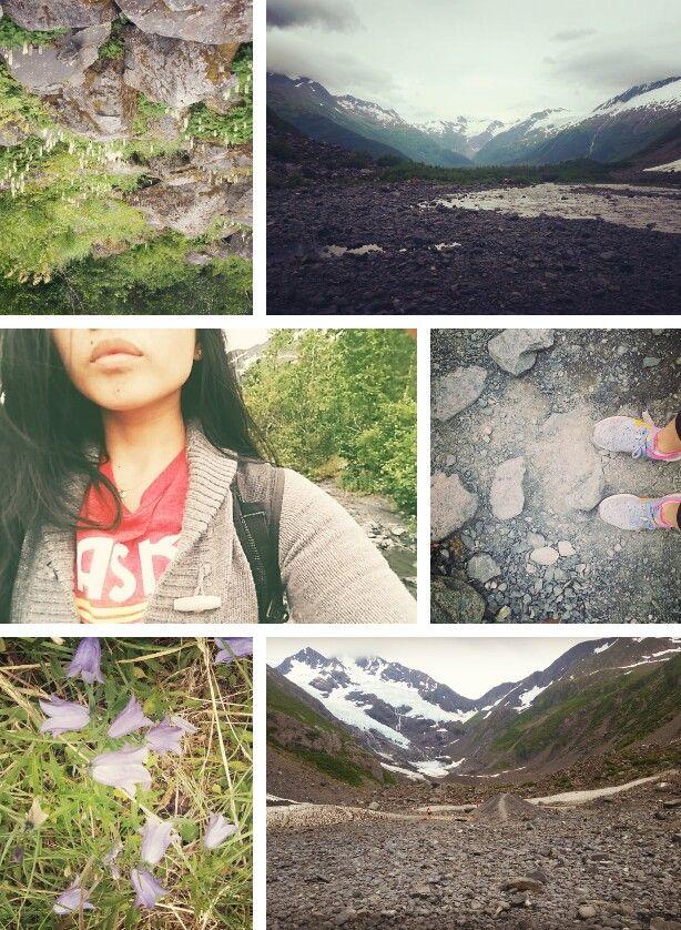byron glacier trail; chugach national forest, ak