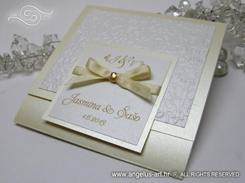 Exclusive Royal Classic wedding invitation