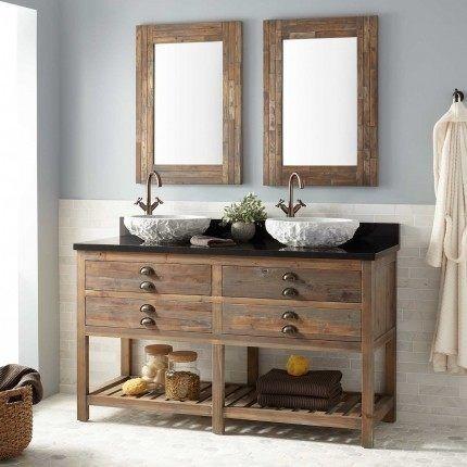 Bathroom Vanities With Vessel Sinks - #Home #Decorating #Ideas