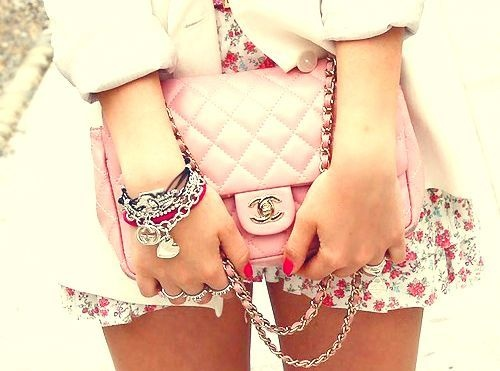 Chanel: Coco Chanel, Chanel Handbags, Pastel, Chanel Bags, Chanel Pur, Design Handbags, Pink Bags, Pink Chanel, Cocochanel