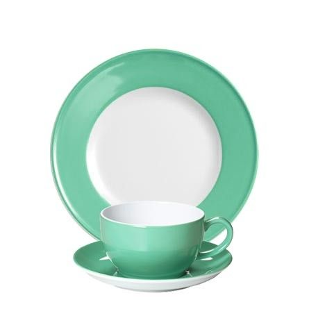 #Dibbern Solid Color Smaragd - FrühstücksgedeckKüche - Farbe