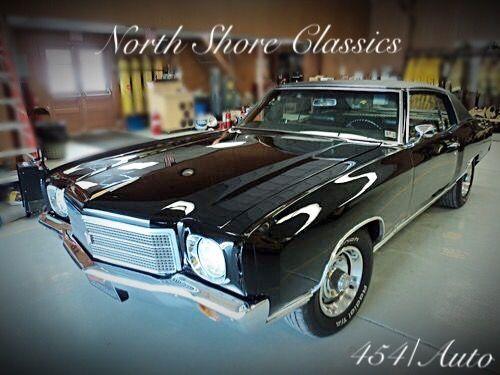 Used 1970 Chevrolet Monte Carlo -TRIPLE BLACK RESTORED CONDITION 454 BIG BLOCK- | Mundelein, IL