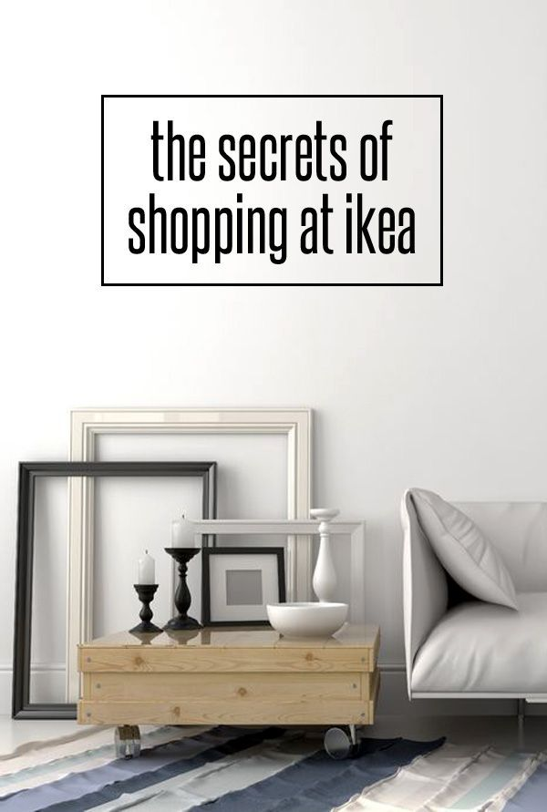 tips for shopping Ikea efficiently