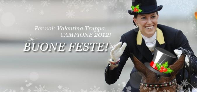 Valentina Truppa: CAMPIONE 2012 e cover foto natalizia per la nostra pagina facebook!