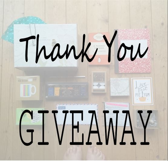THANK-YOU-GIVEAWAY  I'm running a competition to WIN a box of your favourite things. Beautiful wrapping, present ideas and possible stocking fillers.  ENTER HERE:  http://www.woodenwindowsills.co.uk/blog-celebration-giveaway/
