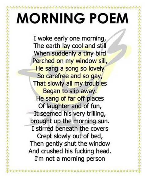silly poems for adults
