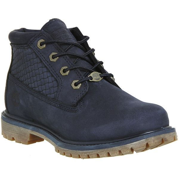 timberland nellie boot blue