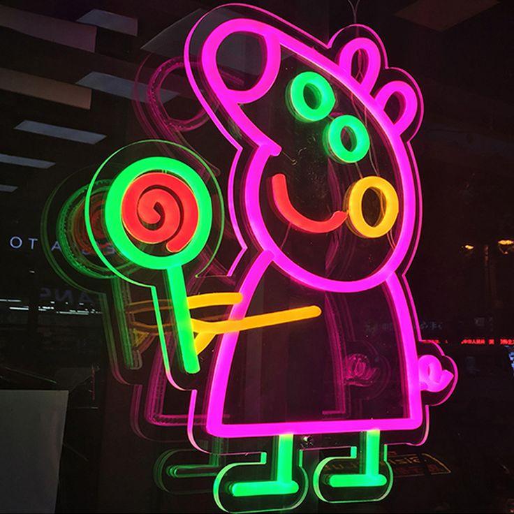 Purple Neon Light Sign Custom Light Up Bar Signs Aesthetic