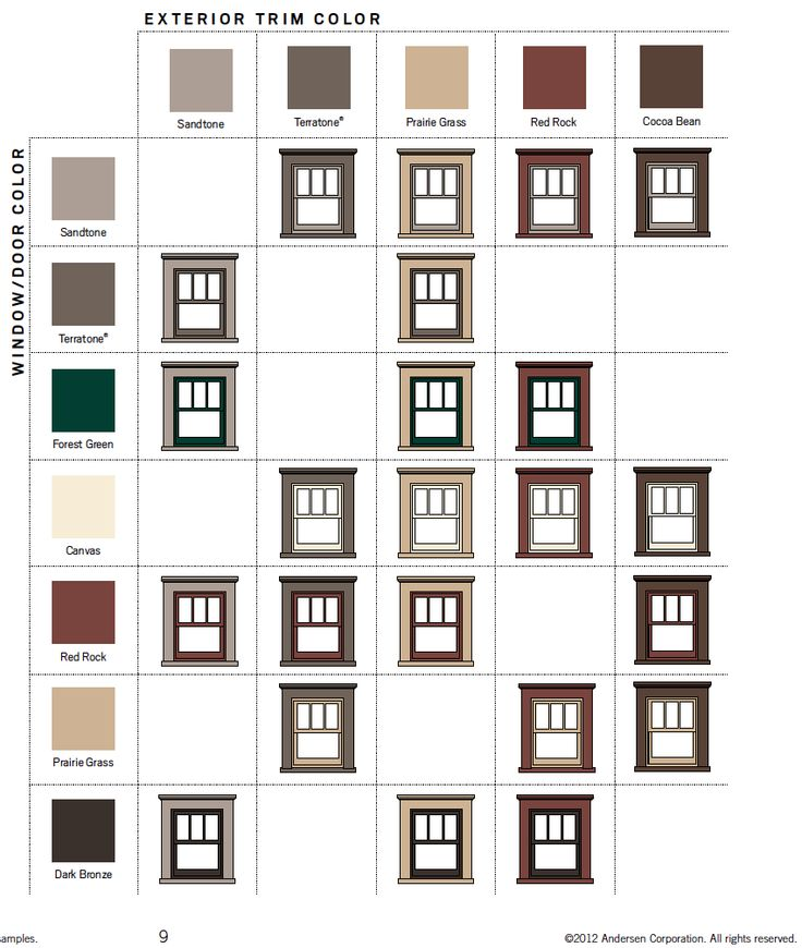 7 best images about craftsman windows on pinterest home for Window design colour
