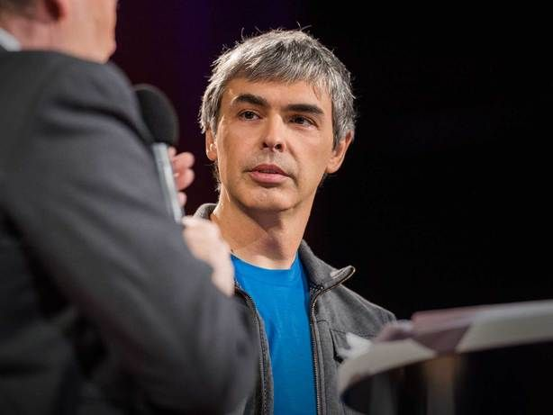 Charlie Rose interviews Google CEO Larry Page about his far-off vision for the company.