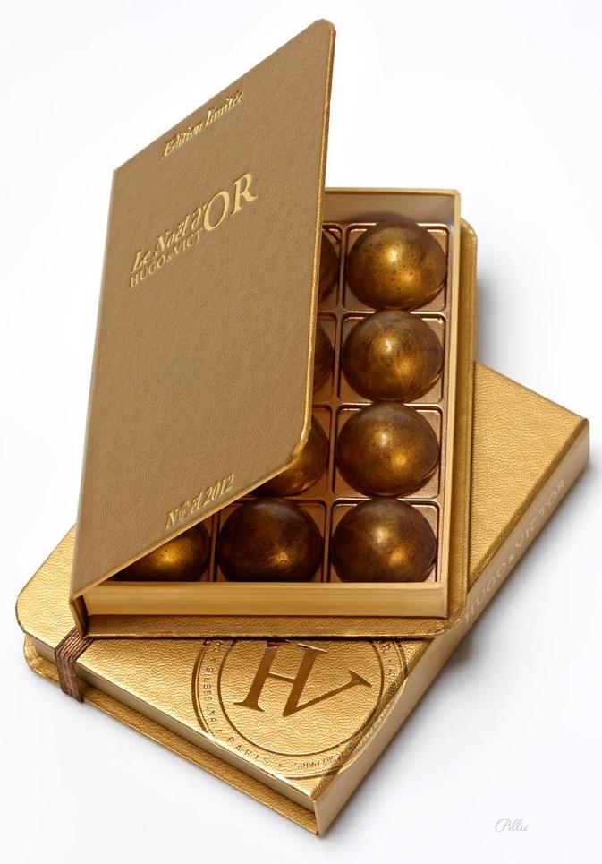 Hugo & Victor Chocolates. Beautiful. PD