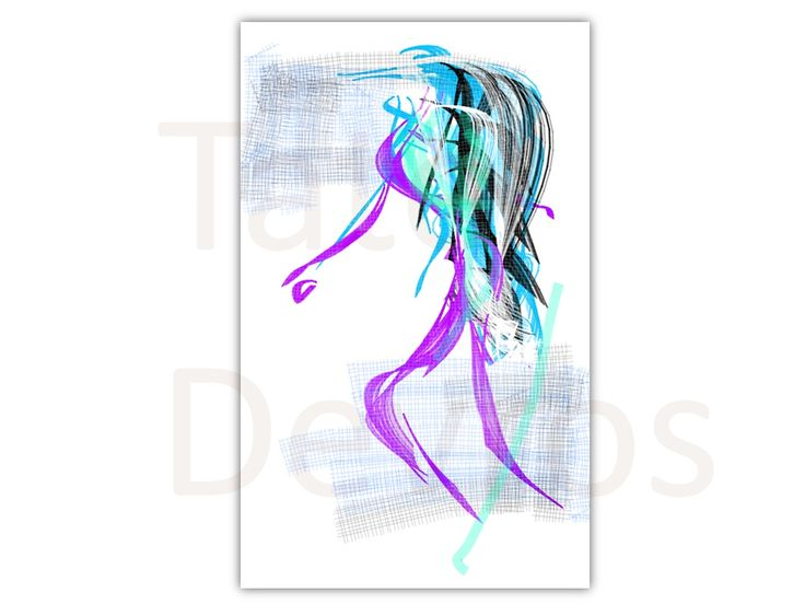 New Trend, is an ink paint sketch making a fashion statement... by Tate devros.1024 x 768 pixels.PNG file typeDownload, print and display.... or use for any project work....