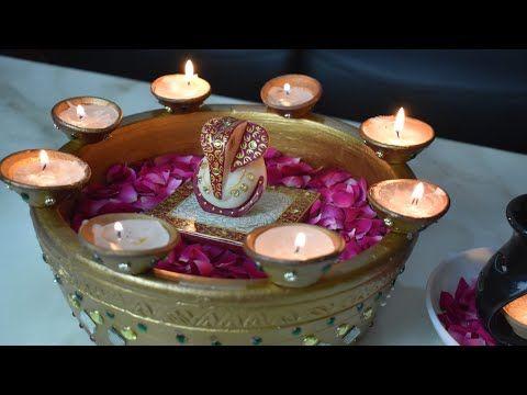 Diwali Decoration Ideas Diy Diya Decoration Ideas For Diwali