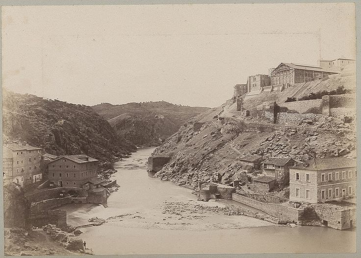 Río Tajo y Turbinas de Vargas en 1886 © Archives départementales de l'Aude - Eduardo Sánchez Butragueño
