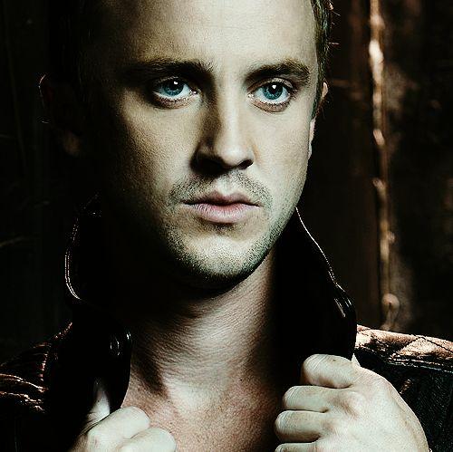 Those eyes! Tom Felton/Draco Malfoy