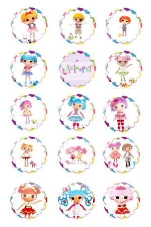 Lalaloopsy Dolls  Bottle Cap
