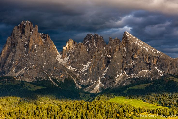Photograph Dolomighties in afternoon sun by Hans Kruse on 500px