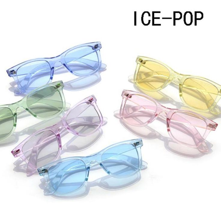 JackJad 2017 New Fashion 2140 ICE-POP Style Transparent Candy Sunglasses Women Men Square Brand Design Sun Glasses Oculos De Sol