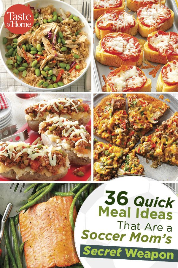 36 Quick Dinner Ideas For Any Busy Family In 2018 Dinner Recipes