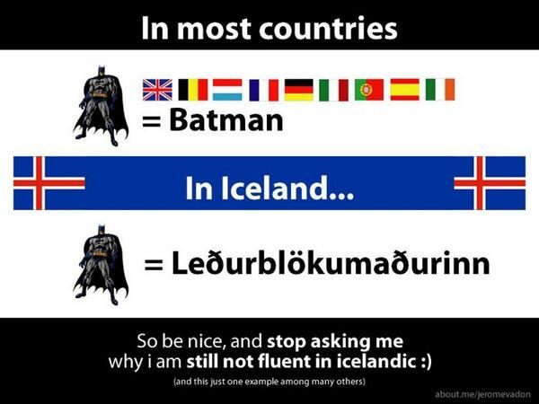 I've lived in Iceland for years, and at the beginning had the insane idea of learning the language by myself. Of course it didn't work out, so I decided to apply to the practical Icelandic course t...