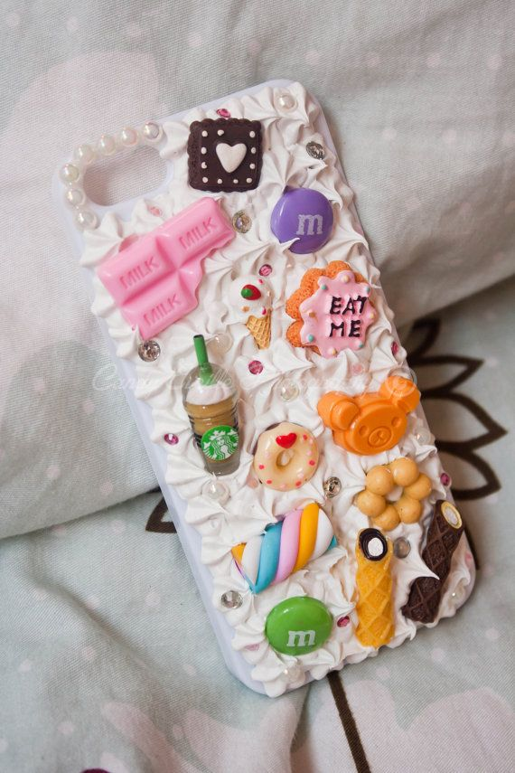 IPhone 5 Colourful Sweets Decoden Phone Case *READY TO SHIP*