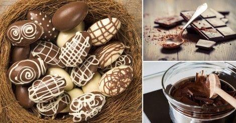 Huevo de Pascua de chocolate, ¡sin azúcar!    Notas   La Bioguía