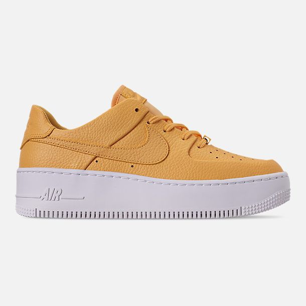 nike air force 1 sage gialle