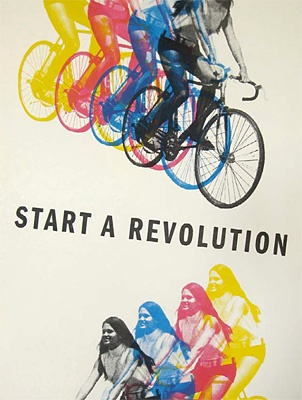 Start a revolution - ride your bike