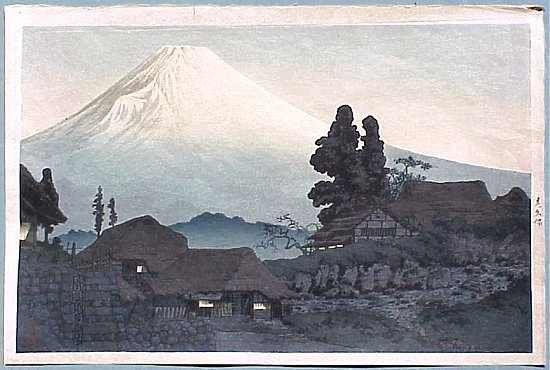 Fujiyama - Shotei (Takahashi Katsutaro)