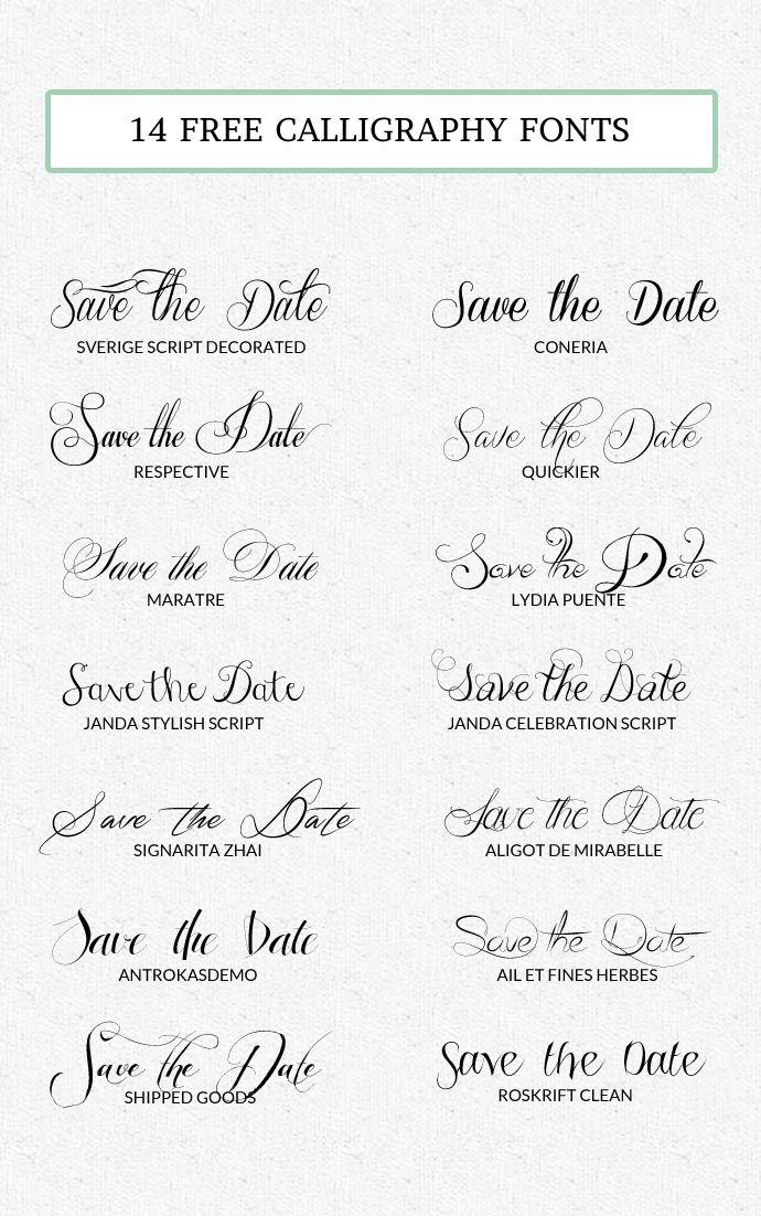 Wer gerne seine Einladungen zu Parties selbst gestaltet (so wie ich), der ist konstant auf der Jagd nach der perfekten Schriftart für diesen einen speziellen Anlass. Momentan steht Kalligraphie ganz hoch im Kurs, aber leider kann sich das nicht jeder leisten und es selbst zu erlernen… naja, wir wollen mal nicht übertreiben, oder? Deshalb habe ich mittlerweile eine kleine Sammlung an Calligraphy Fonts zusammengestellt, die ich euch gerne präsentieren möchte. Das beste daran: Sie sind alle…