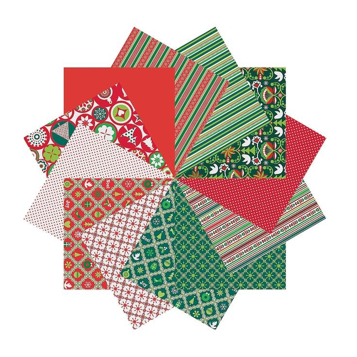 Scandia Jul Paper Pack - OrientalTrading.com