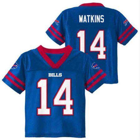 NFL Buffalo Bills Toddler Sammy Watkins Jersey, Toddler Boy's, Size: 3 Years, Blue