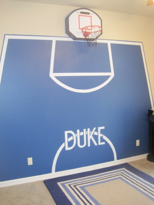 Small Teen Basketball Homemade Amateur