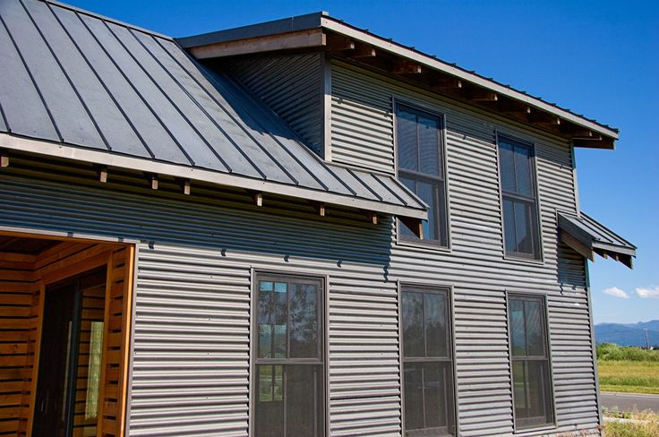 Steel Siding for Houses   Products Roofing Siding Rustic Interior Metal Art