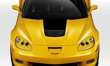 2005-2013 Chevy Corvette Stingray Z Duraflex Body Kit- Hood. SKU 109685. For more info give us a call at 714.614.6087, M-F 10AM-5PM (PST) or check out our site expressaerokits.com #corvette #chevycorvette #ChevroletCorvette #Chevrolet #c6 #carbonfiber #EAK #ExpressAeroKIts #corvettestingray