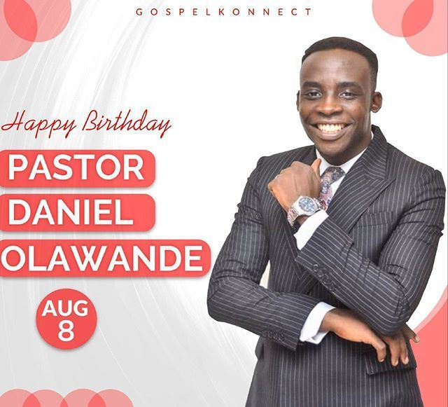 Happy birthday Pastor Daniel Olawande @PDanielOlawande! Welcome to