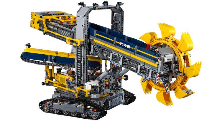 We got a sneak preview of Lego's new Bucket Wheel Excavator at the Nuremberg toy fair earlier this year, but now we have official details on the monstrous set, which will come with over 3,900 pieces, officially making it the largest Lego Technic set to date.