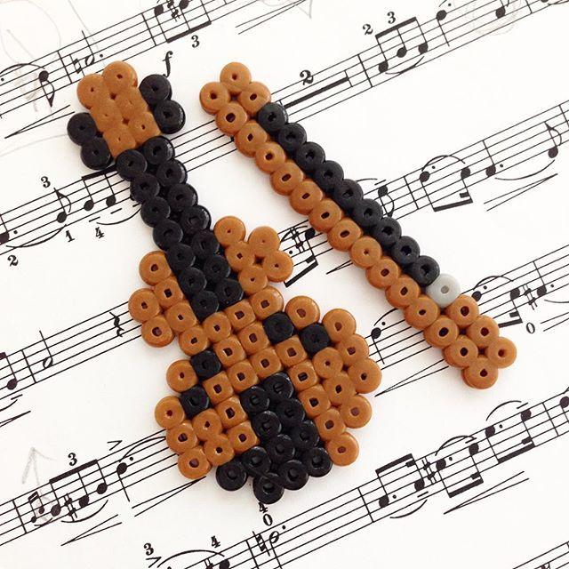 Violin perler beads by june_noh