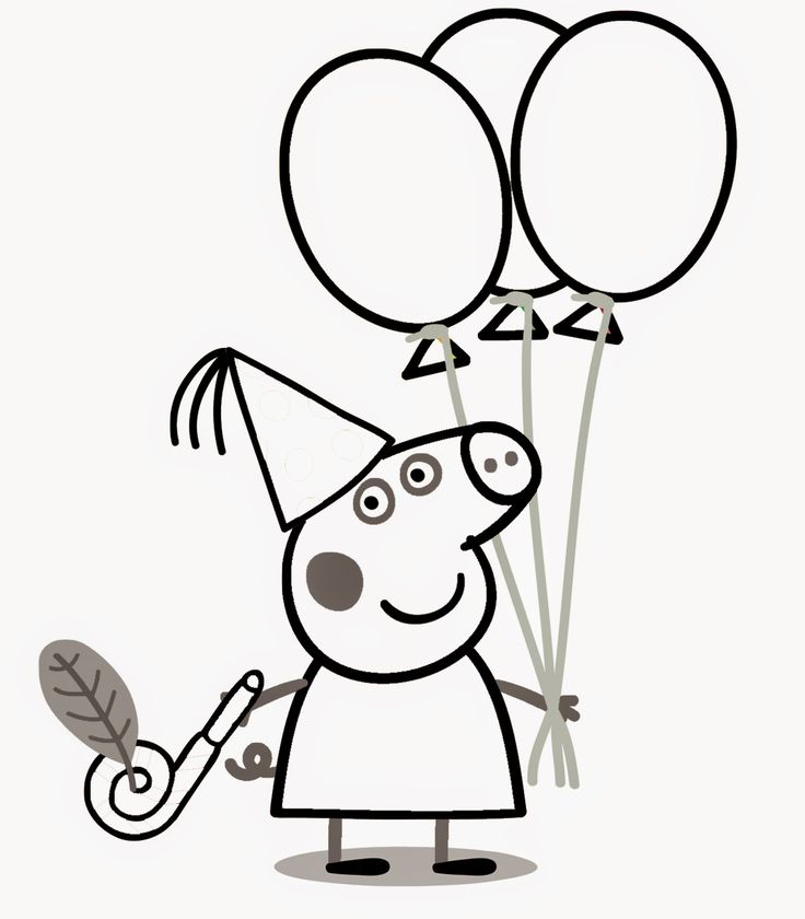 31 best Peppa pig coloring pages images on Pinterest Birthdays - new coloring pages for eye doctor