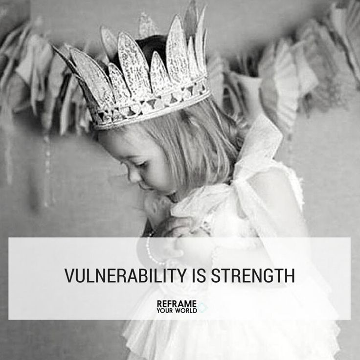 Vulnerability is strength