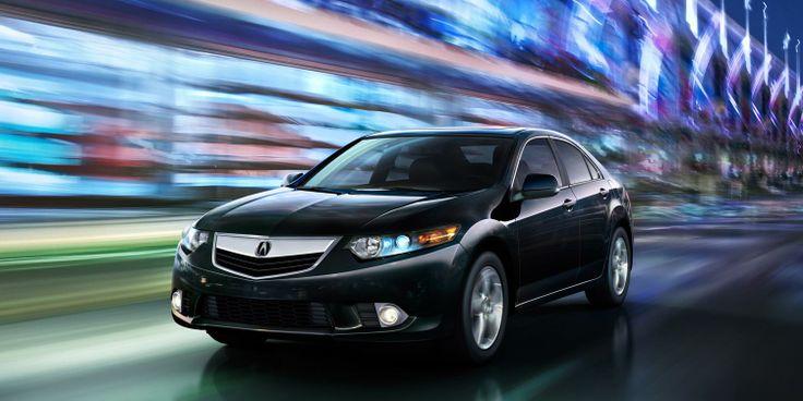 The #Acura TSX has a sport sedan attitude with a premium car practicality