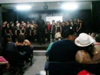 Debut en la Dirección de Coro de la Prof. Haidee Ruiz en el Festival del Sistema Coral de Nueva Esparta en Diciebre 2014