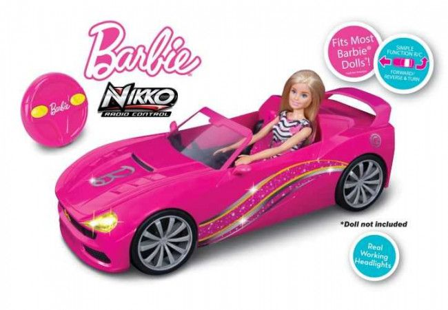 Barbie Voiture radiocommandée cabriolet