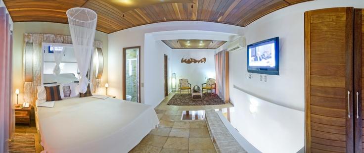 El Serhs Villas da Pipa Hotel está formado por 22 casas de arquitectura típica de la zona y mantiene un equilibrio perfecto entre lo que es construcción y naturaleza.