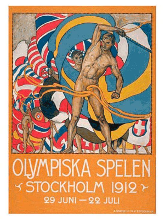 1912 Stockholm Olympics Logo