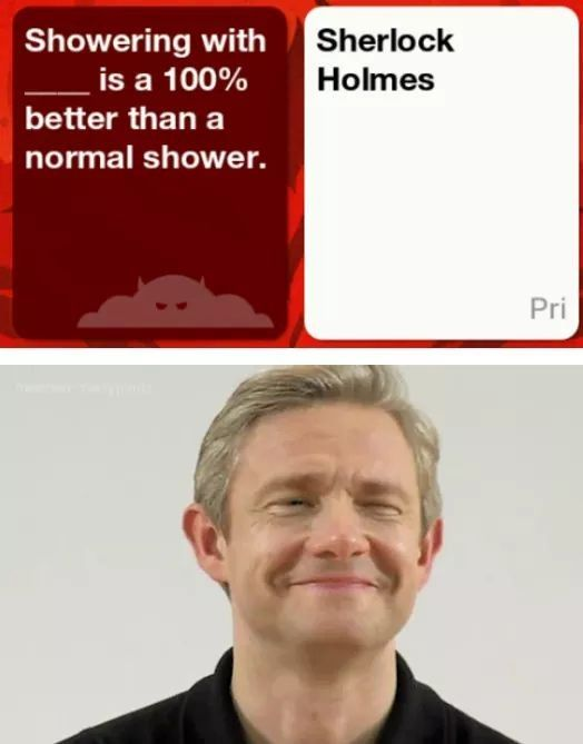 Cards Against Humanity: Johnlock
