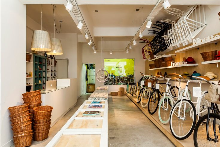 Monochrome Bike Shop in Buenos AIres Argentina. Chosen by Monocle as one of the 3 Best Bike Shops http://monocle.com/film/business/best-bike-shops/