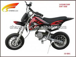 Hot sale 24V250W/350W electric dirt bike for kids, CS-ED01 website: www.harryscooter.com     email: sales2@harryscooter.com     Skype: Sara-changshun